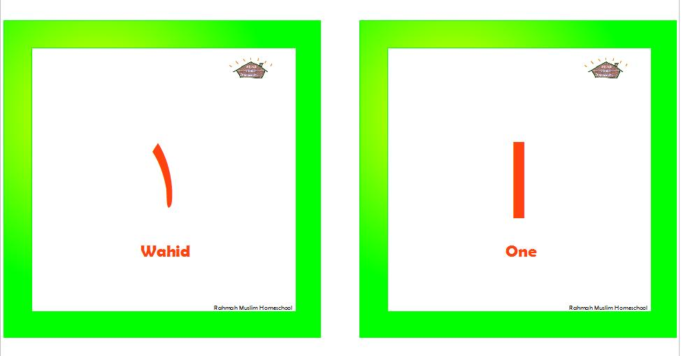 Flashcards | The Resources of Islamic Homeschool in the UK