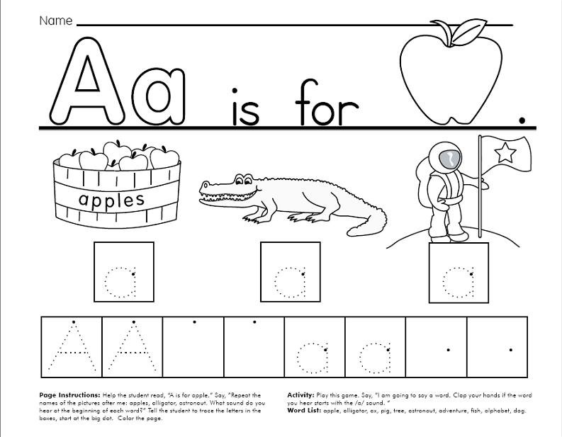 FREE Traceable Alphabet Worksheets 64 pages – Free Alphabet Worksheets