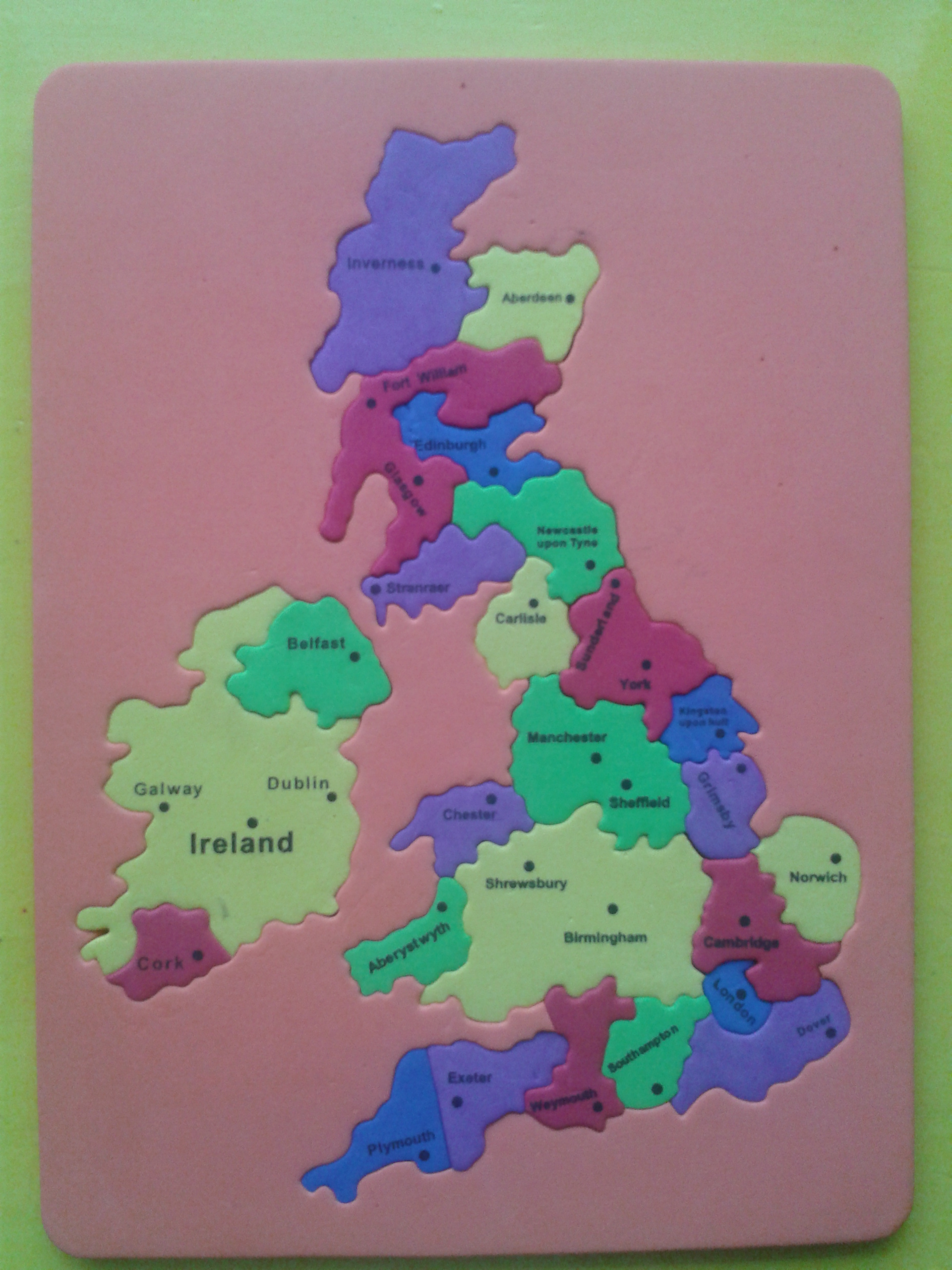 Please feel free to download the British Isles Worksheet.