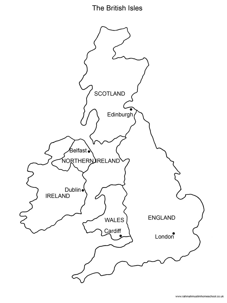 Map Of England For Ks1.Outline Map Of Uk Ks1