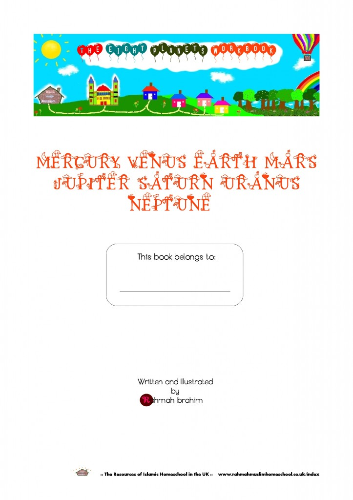 The Eight Planets Workbook1