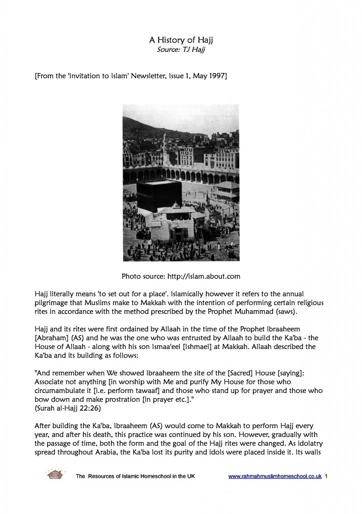 A history of Hajj-page-0