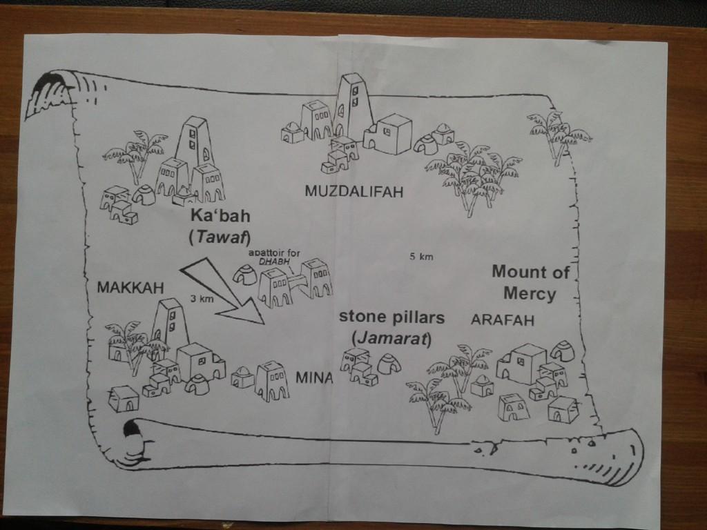 hajj map 1
