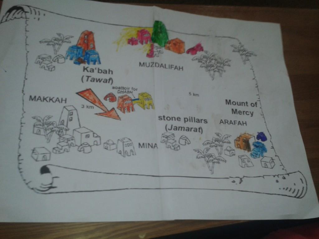 hajj map 2