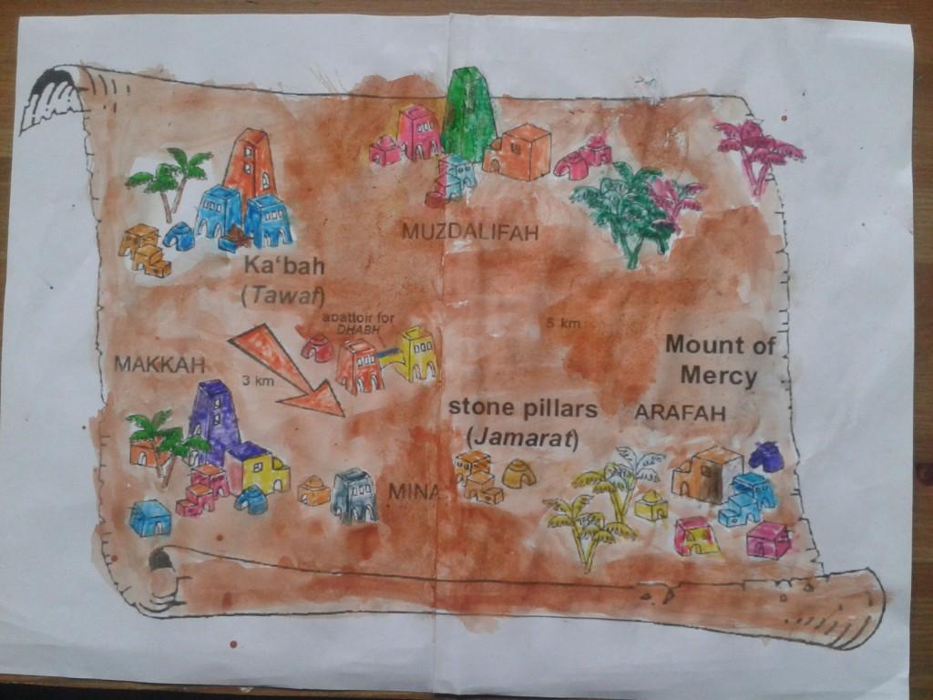 hajj map 7