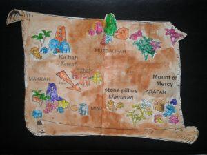hajj map 9