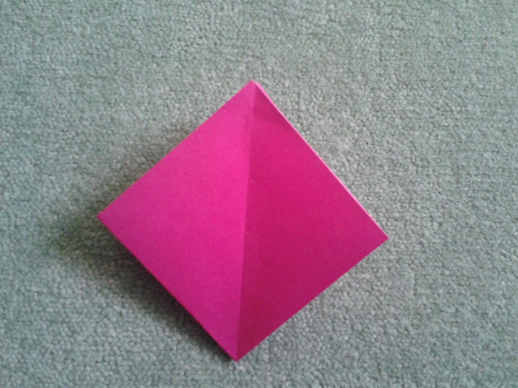 Origami Index Card Box