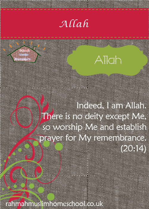 1 Allah