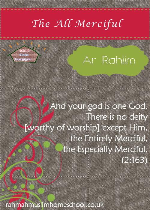 3 Ar Rahiim