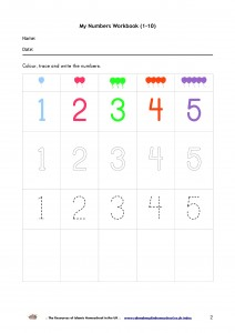 My Numbers Workbook 1-10-p2