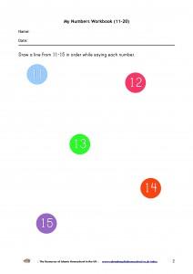 My Numbers Workbook 11-20-p2