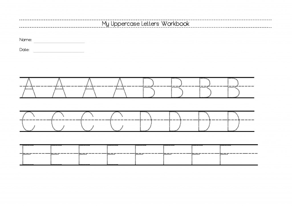 My Uppercase Letters Workbook.-p1