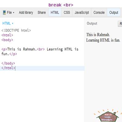 html b