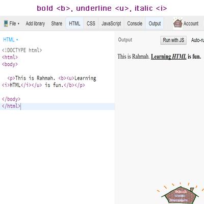 html c