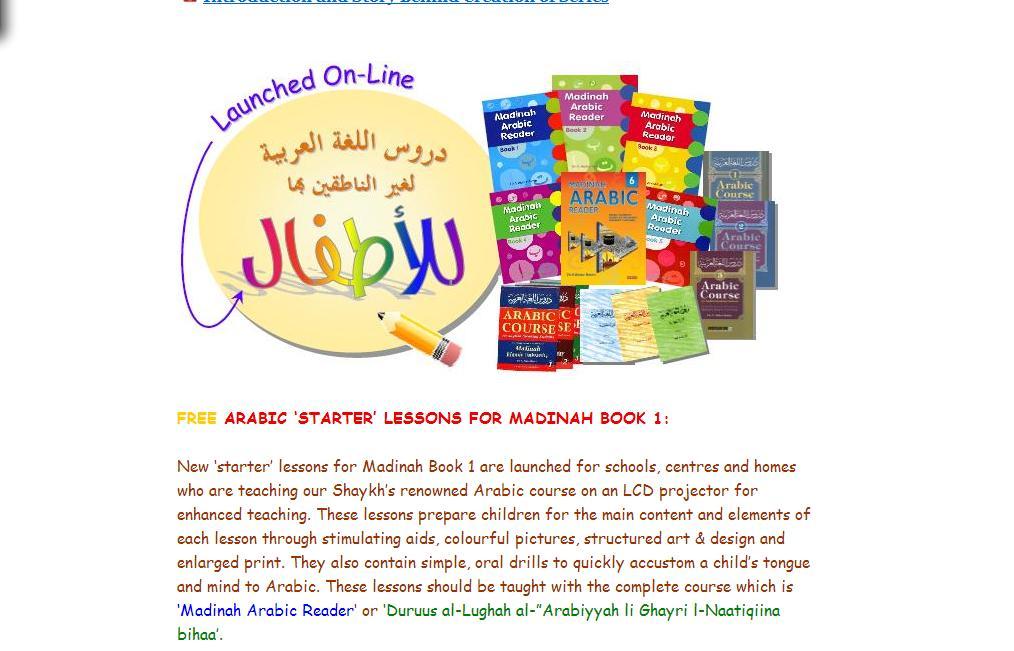 Madina Arabic Book 1