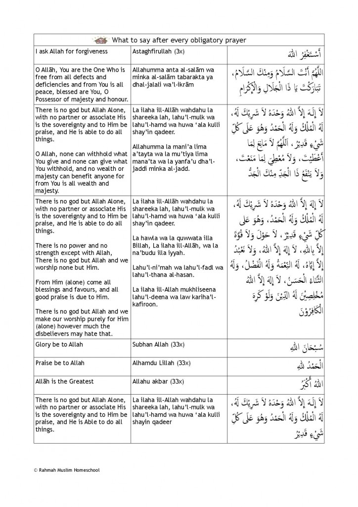 Dua after prayer-page-001
